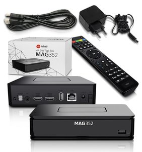 MAG 351/352 4K hevc iptv set-top box