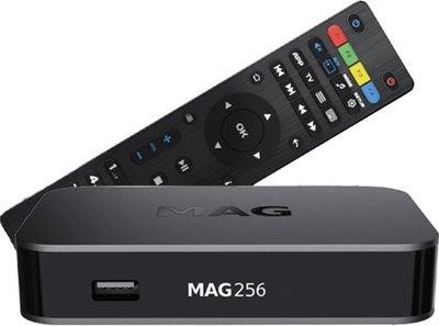 MAG 256 W2 hevc iptv set-top box
