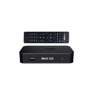 MAG 322 W1 hevc iptv set-top box