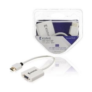 Konig HDMI ADAPTER CABLE- VGA FEMALE+3.5 MM OUTPUT