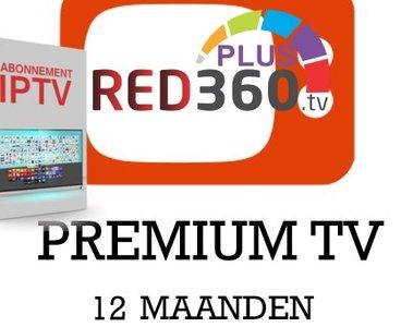 Red 360 Mega tv Nieuwe inlog code voor 12 maanden