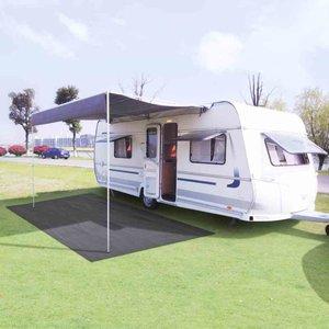 Camping tapijt 250x600 cm antraciet
