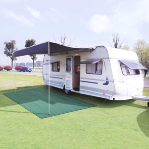 Camping tapijt 250x200 cm groen