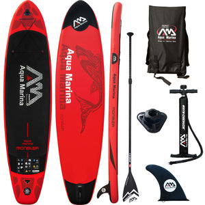 SUP board Monster rood 365x82x15 cm