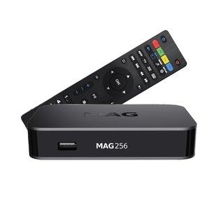 MAG 256 hevc iptv set-top box