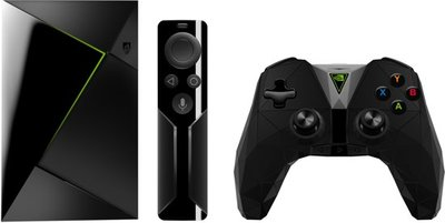 NVIDIA SHIELD + Game Controller + remote+ 12 MND NL