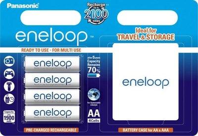 1x4 Panasonic Eneloop Mignon AA 1900 mAh + Accubox