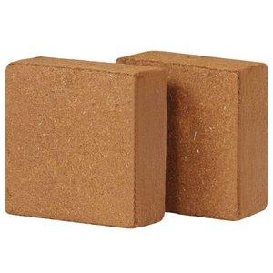 Kokosvezelblokken 5 kg 30x30x10 cm 2 st