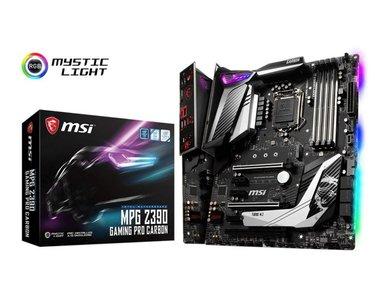 MSI MPG Z390 GAMING PRO CARBON moederbord LGA 1151 (Socket H4) ATX Intel Z390