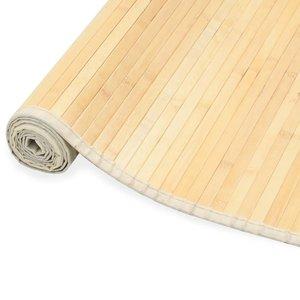 Tapijt 120x180 cm bamboe naturel